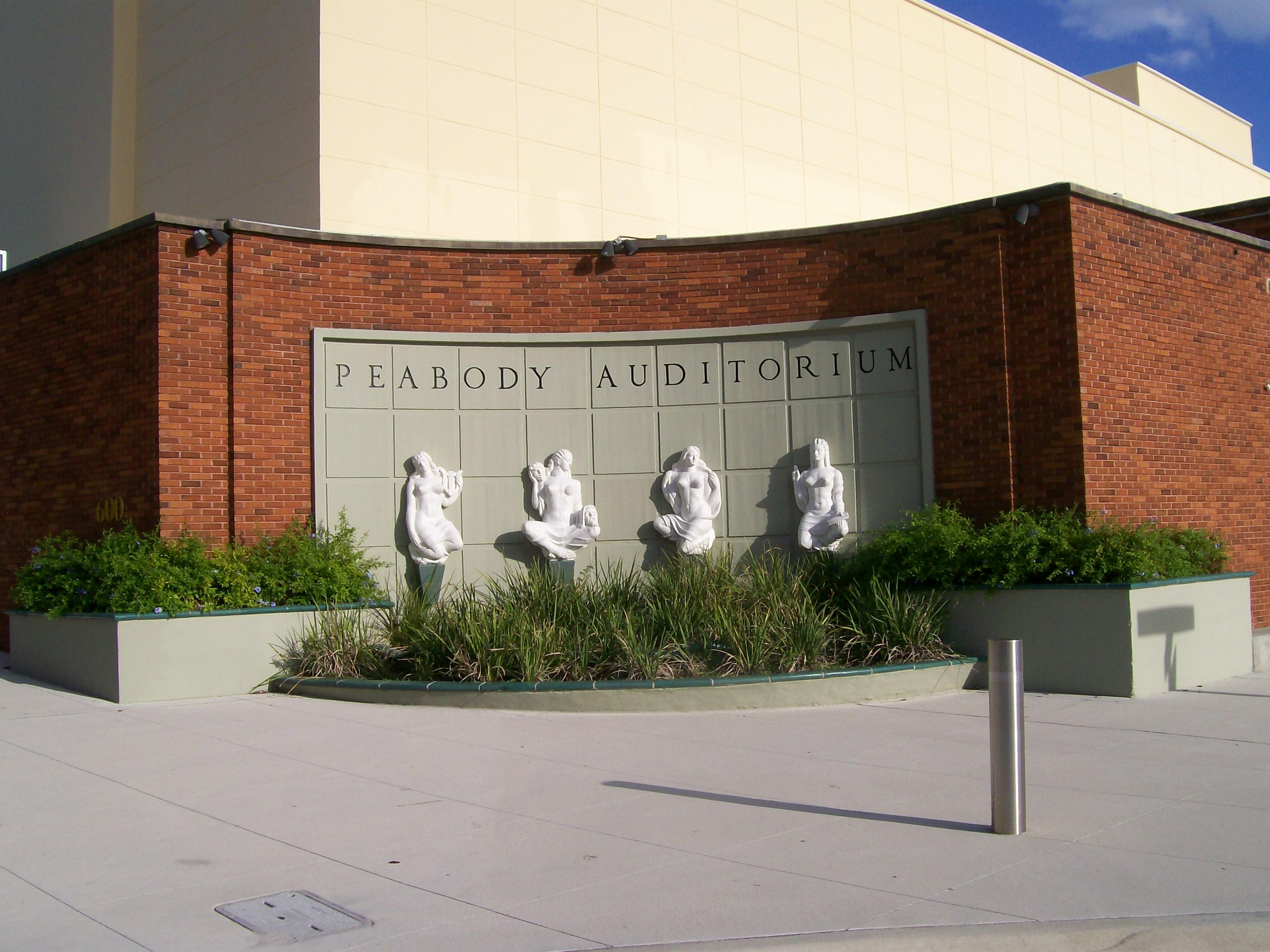 Peabody Auditorium Dodaytona Daytona Beach Performing